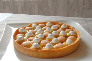 Tarte mangue - passion de Cyril Lignac