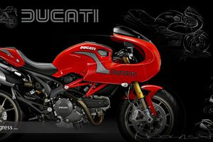 DUCATI MONSTER evo Cafe Racer