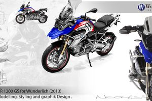 Accessories for R1200GS Water cooled