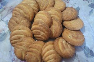 Biscuits au raisins sec