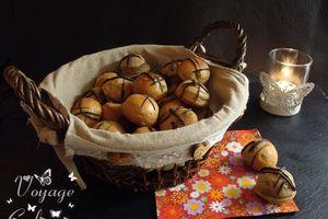 Bouchées gourmandes au praliné amande