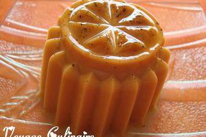 Flan au caramel vanillé