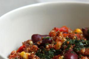 Quinoa à la mexicaine {recette végétarienne} avec ou sans Cook'in