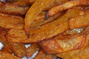 Frites maison - Ou comment manger des frites sans culpabiliser...