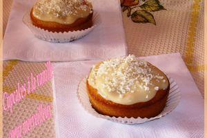 Cupcakes à la vanille coeur merveilleux