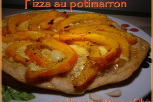 Pizza au potimarron