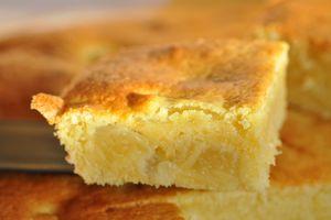 Gâteau ananas amande
