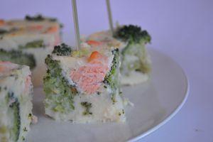 Cuajada salée saumon brocolis, parce que j'aime les expériences impossibles