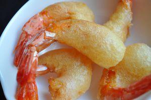 Beignets de crevettes croustillants, le secret...