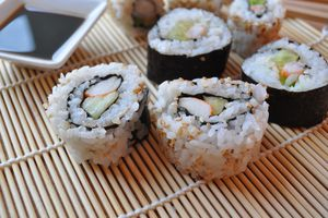 California rolls (makis inversés)
