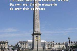 21 janvier 1790 et 1793 - Guillotine