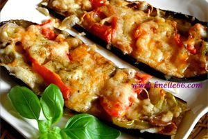 AUBERGINES VERSION PIZZA