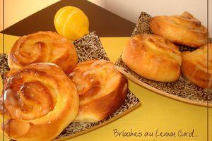 Brioches Roulées au Lemon Curd