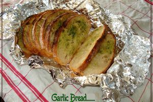 Garlic Bread...merci Piment Oiseau!!