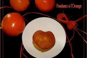 Gâteaux Fondants à l'Orange