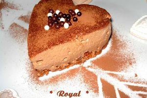 Le Royal...ou un dessert pour les amoureux!