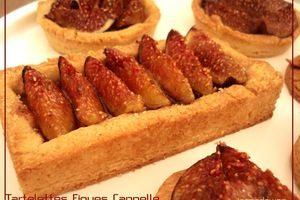 Tartelettes Figues Cannelle