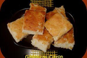 Gâteau au Citron Très Très Moelleux