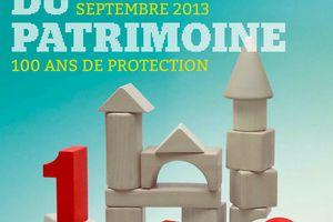 Association du Patrimoine Yonnais. Le programme des Journées européennes du patrimoine 2013.
