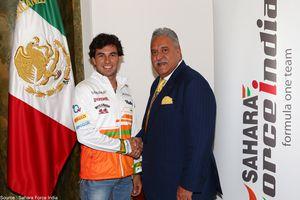 Sergio Pérez atterrit chez Sahara Force India