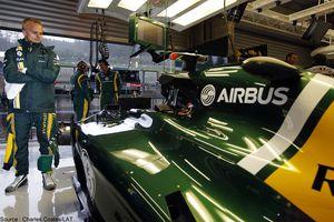EADS remplace Force India par Caterham