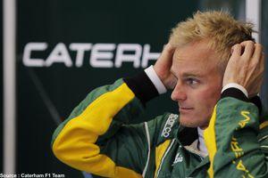 Caterham appelle Heikki Kovalainen à la rescousse