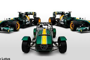 Officialisation du rachat de Caterham par Team Lotus