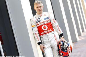 McLaren fait confiance à Kevin Magnussen pour 2014