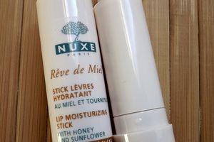 Nuxe : Stick Lèvres Hydratant # Rêve de Miel #