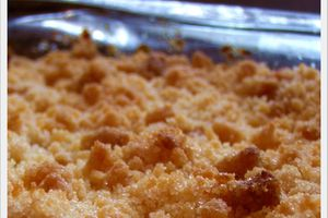 Crumble Pommes Cannelle ...