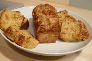 Cake Jambon Cru, Comté & Noix de Cajou