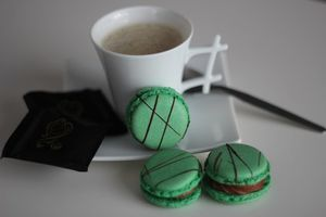 Macarons After Eight