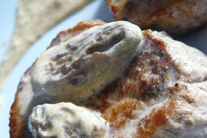 Filet Mignon de Veau Sauce aux Morilles