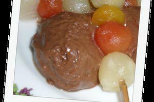 Mousse au chocolat à la Michalak