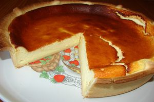Tarte au fromage blanc (au Cook'in®)