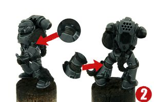 Tutorial: Space Wolves bemalen/ How to Paint Space Wolves 1