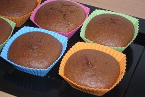 Muffins cacao cannelle