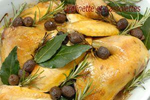 Poulet aux Olives de Nyons