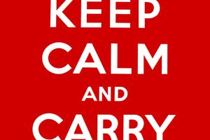 KEEP CALM AND CARRY ON: L'HISTOIRE