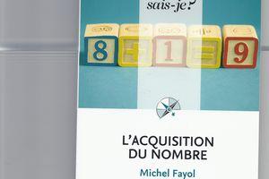 Livres - L'acquisition du nombre - Michel Fayol
