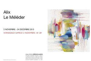 Un artiste, un atelier, Alix le Meleder