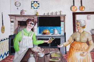 Combray, Françoise et la Charité de Giotto
