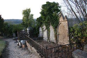 Le cimetière de Vézelay
