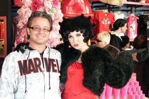 Patrice Catanzaro rencontre Betty Boop