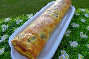 ROULE D'OMELETTE (thermomix)