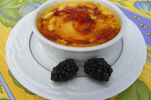 CREME BRULEES AUX MURES