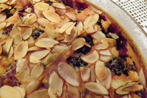 CLAFOUTIS AUX MURES