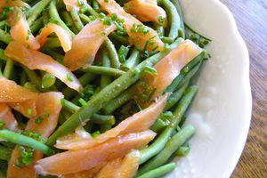 HARICOTS VERTS EN SALADE (thermomix)