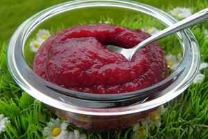 COMPOTE POMMES CERISES (thermomix)