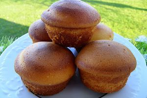 MUFFINS A LA VANILLE (thermomix)